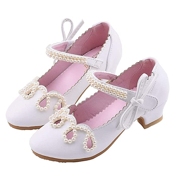 LANSKIRT Zapatillas Bebe Lindo Perla Zapatos de Cuero de tac/ón Cuadrado Zapatos Bebe ni/ño Primeros Pasos Modernos Calzado Patucos ni/ña Encantador Pantuflas Sandalias Zapatos ni/ña Princesa