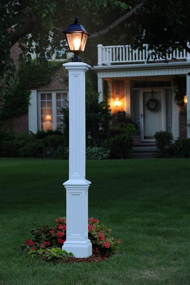 Mayne 5835-BK Signature Lamp Post with 89-Inch Aluminum Ground Mount by Mayne (Image #2)