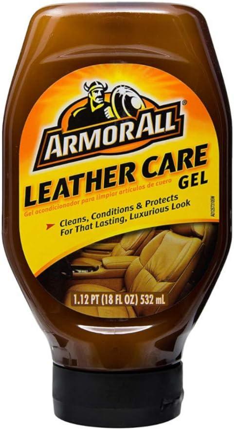 Armor All 10961 Leather Care Gel (18 Fluid Ounces), 9963