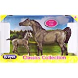 Breyer Classics Grey Sport Horse and Foal Toy Set