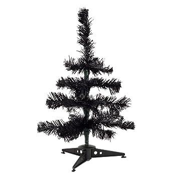 eBuyGB 30cm Mini Artificial Christmas Tree - Coloured Festive Desk ...