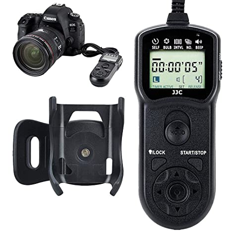 Amazon com : JJC Timer Remote Control Shutter Release for