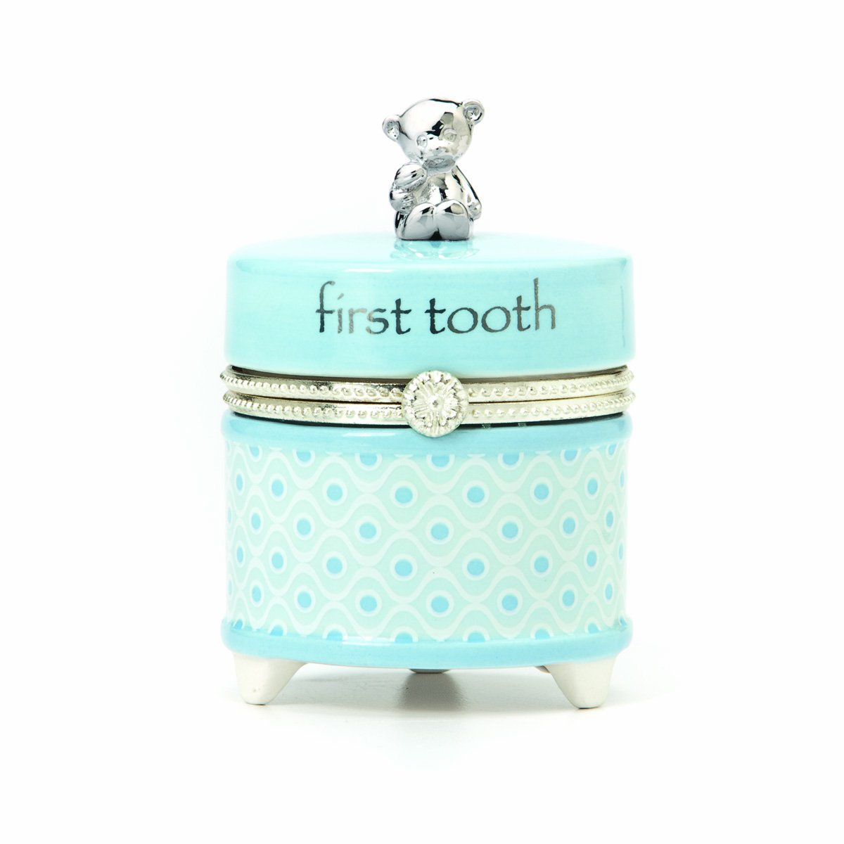 Nat and Jules First Tooth Keepsake Box, Blue P00261