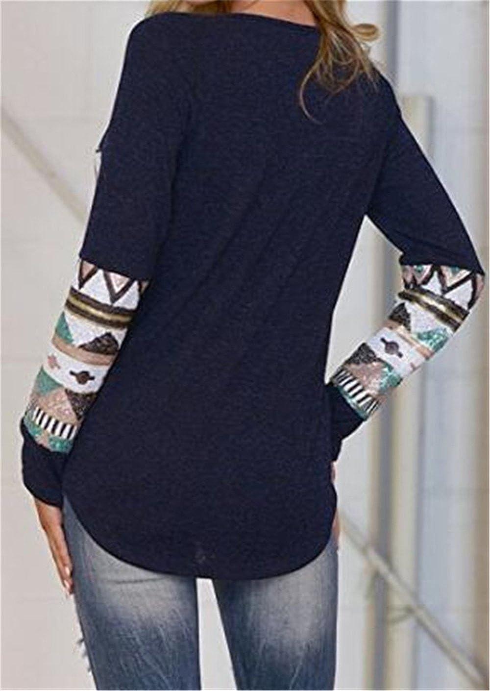 Mujeres Camisetas De Manga De Cuello Redondo Sexi Slim T Shirt Blusas Camisas Sweatshirt Tops Clasicos Universidad Knitted Ocasionales Camisetas De Manga ...