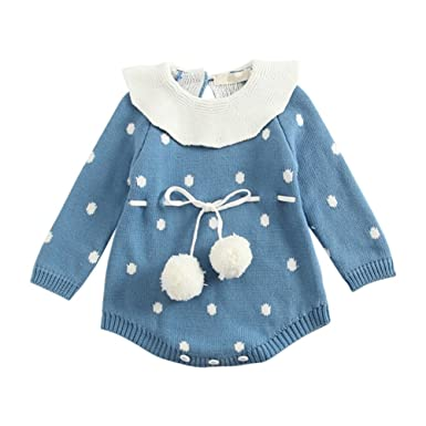 c16272ee7 BOBORA Newborn Infant Baby Winter Romper Bodysuit Girls Thick Warm ...