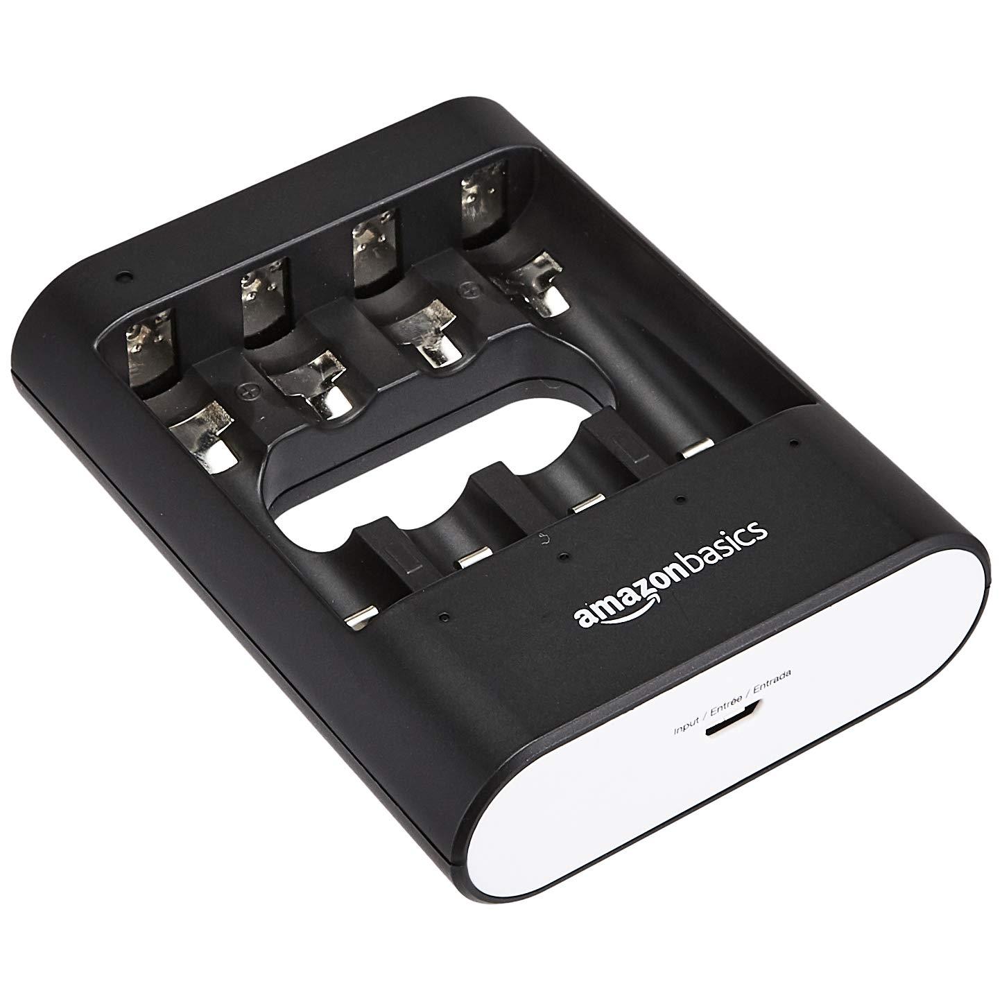 "Caricabatterie USB Basics nero /""Overnight/"""