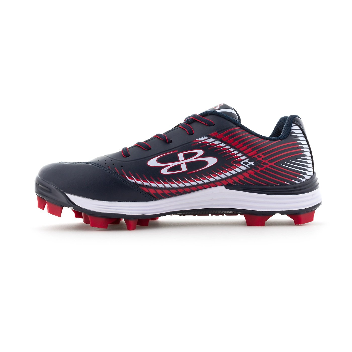 88003d4c1 Boombah Women s Frenzy Molded Cleats - 13 Color Options - Multiple Sizes  larger image