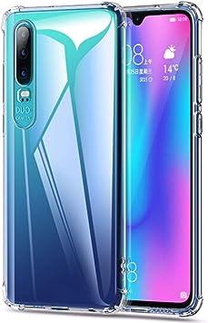 WUFONG Funda para Samsung Galaxy A2 Core,Estuche para teléfono móvil,Caja del teléfono móvil Ultrafina Totalmente Transparente, Cubierta de airbag de Cuatro Esquinas Gruesa: Amazon.es: Electrónica