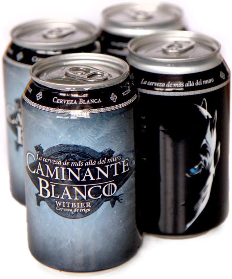 PACK 4 latas Cerveza Artesana Caminante Blanco 33 cl: Amazon.es: Alimentación y bebidas