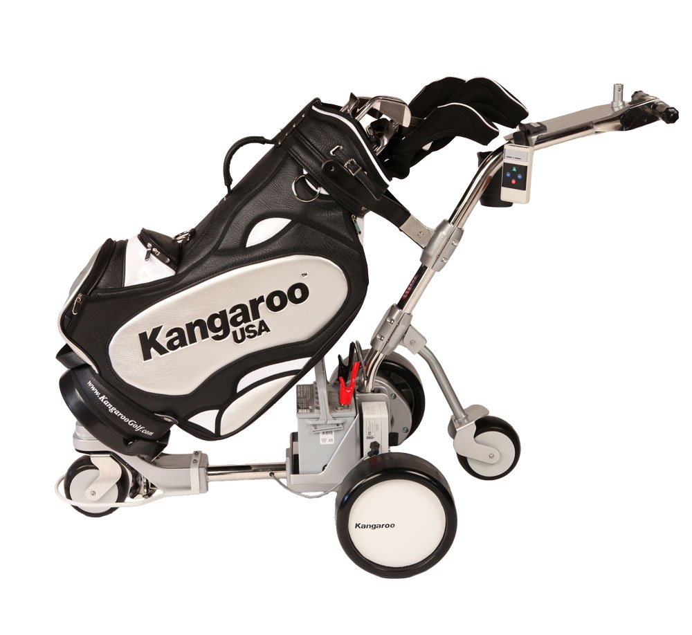 Kangaroo Hillcrest ABX Electric Golf Cart with Remote Control