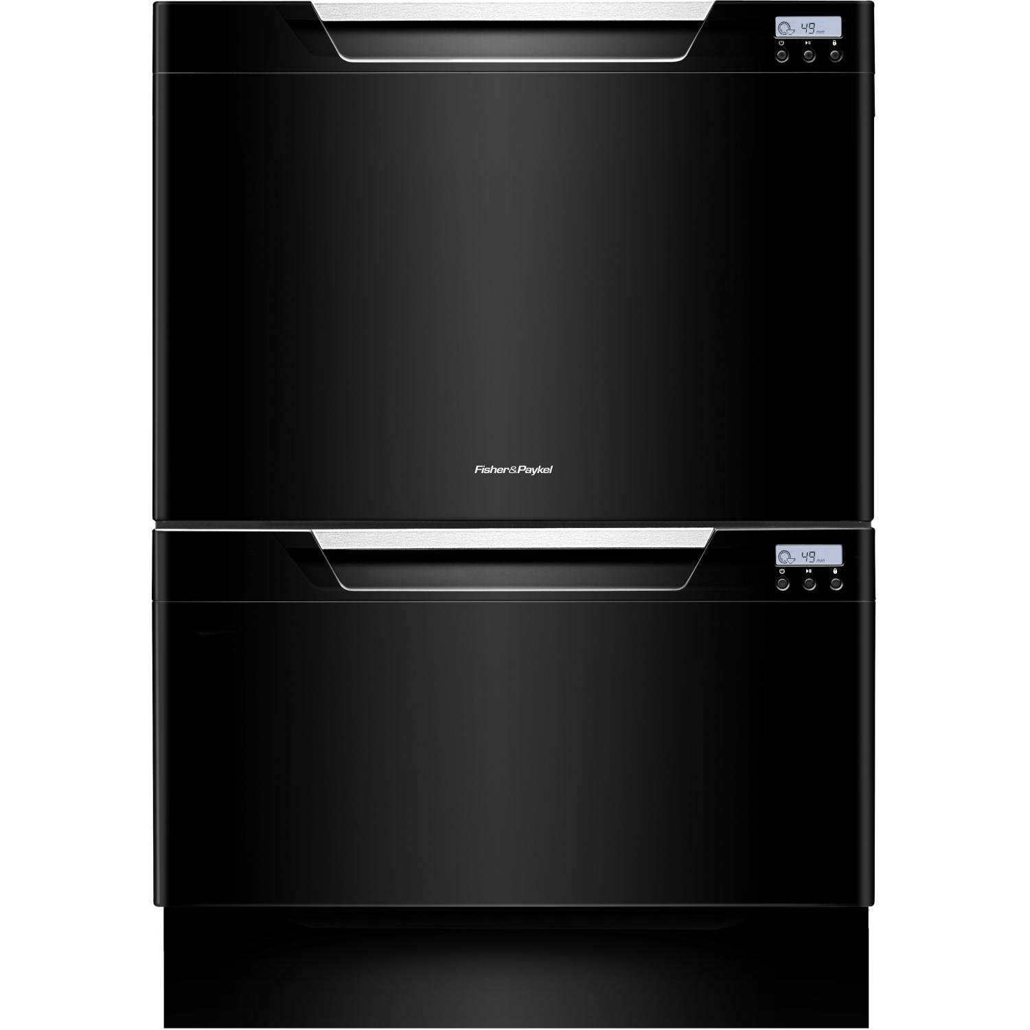 Fisher and paykel 2 drawer dishwasher - Amazon Com Dishdrawer Tall Series Dd24dctb7 24 Quot Semi Integrated Dishwasher With 14 Place Settings 9 Wash Cycles Eco Option Quiet Operation Adjustable