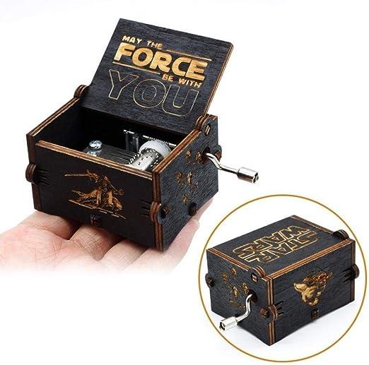 FGHFG Harry Potter caja de música niño caja musical juguete juguetes portátiles juguetes papá da hija una caja de regalo: Amazon.es: Hogar