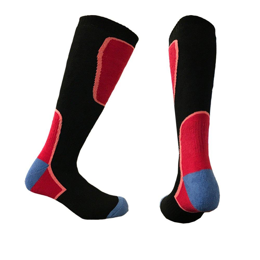 i-Smalls Children`s 4 Pairs High Performance Ski Socks Long Hose Thermal Socks