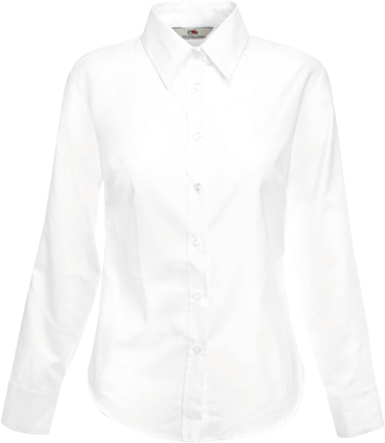 Fruit of the Loom Oxford Shirt LS Lady-Fit Camicia Donna