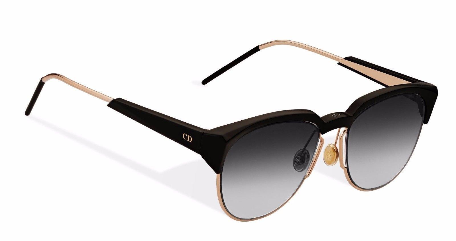54854b0ef434d New Christian Dior SPECTRAL 01M RO Black Grey Sunglasses