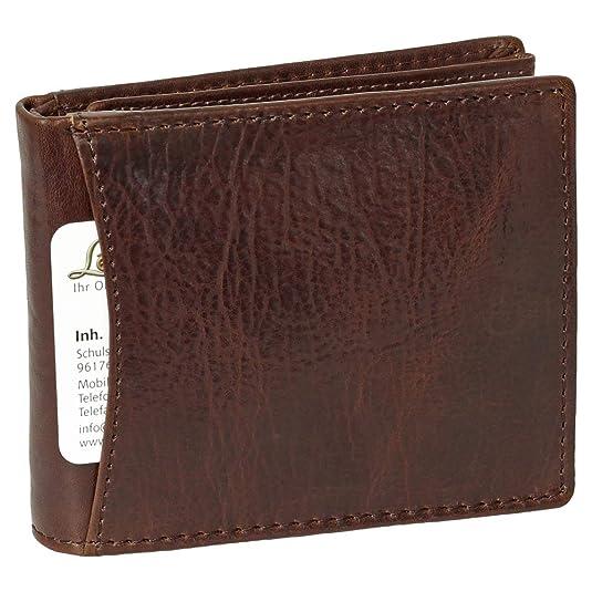 Cartera monedero cartera de piel para hombre Harold archd ...