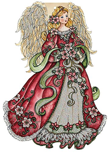 Performing Arts Hangable Ornament Card Angel Design Stationery Paper, 69004-12