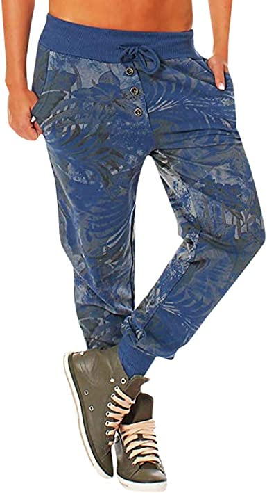 LuckyGirls Chic INS Pantalones Yoga Mujeres, Pantalones ...