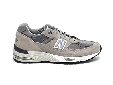 new balance 991 pelle, Grigio donna Scarpe Sneakers NEW