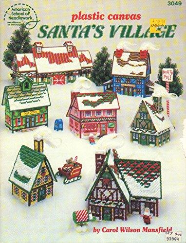 Santa's Village Plastic Canvas Pattern