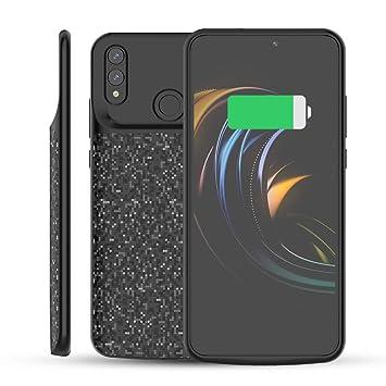 Fey-EU Funda Batería para Phone Funda Cargador Portatil Batería Externa Ultra Carcasa Batería Recargable Power Bank Case (5000mAh [para Huawei Honor ...