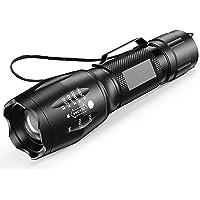 LETION linterna ultravioleta Led Linterna UV,Luz negra UV 2 en 1 con Reflejo 395nm luz ultravioleta, Modo 4 Para Ropa de…