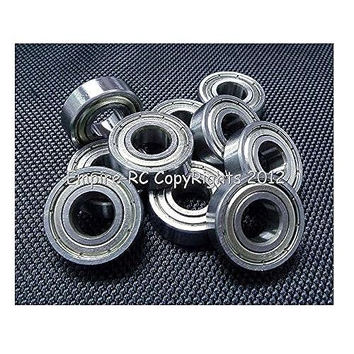 "(10 PCS) (R6ZZ) (3/8"" X 7/8"" X 9/32"") Double Metal Shielded Ball Bearing"