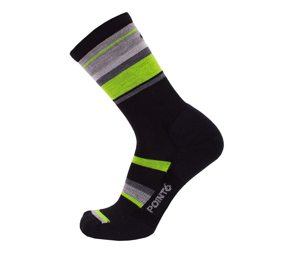 Point6 Active Life Band Light Crew Sock