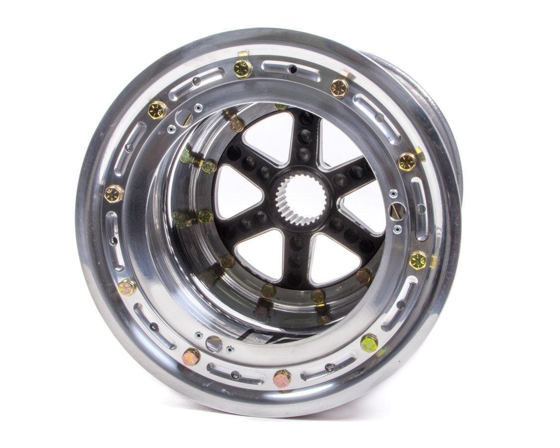 KEIZER ALUMINUM WHEELS, INC. DL10115SPBL Splined Wheel B/L 10x11 5in bs 27t