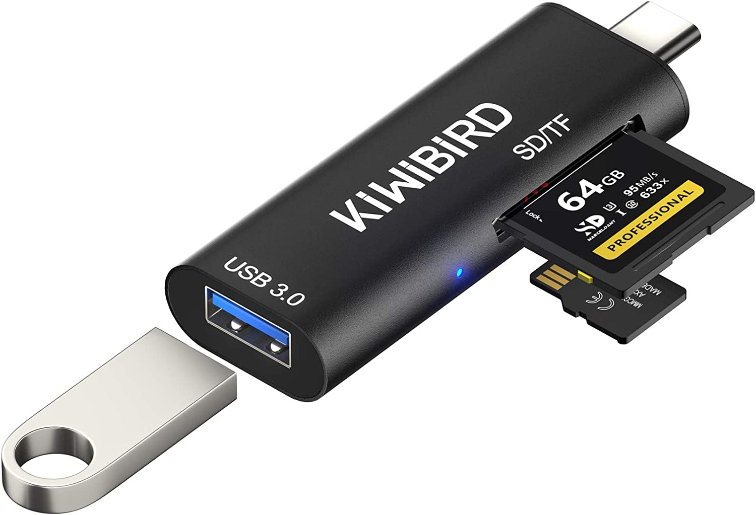 Kiwibird Usb C Sd Micro Sd Tf Card Reader Type C To Computers Accessories