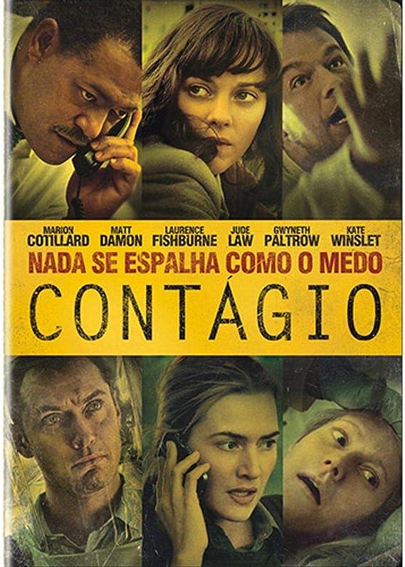 Contágio: Amazon.com.br: DVD e Blu-ray