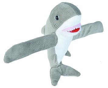 Amazon Com Wild Republic Huggers Great White Shark Plush Slap