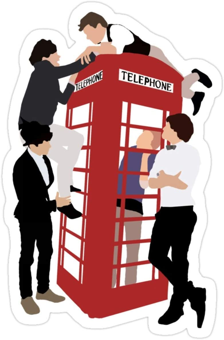 Stickers One Direction Take Me Home Laptop Books Vinyl Decals (3 Pcs/Pack) 3x4 Inch