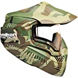 Sly Valken Paintball MI-7 Goggle/Mask with Dual Pane Thermal Lens - Woodland