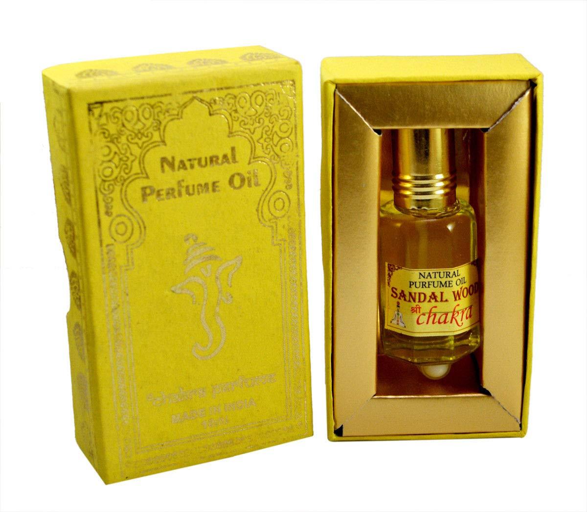 Chakra Natural Perfume Frangipani Fragrance 100% Pure Natural Oil 10ml Made in india
