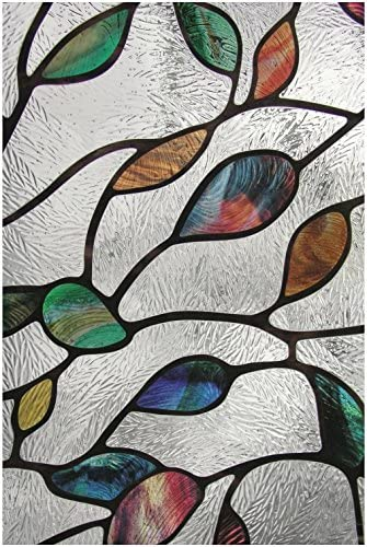 Artscape 02-3021 24 X 36 New Leaf Decorative Window Film
