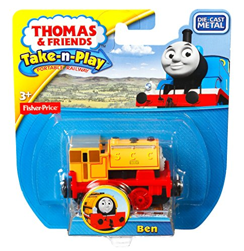 Fisher-Price Thomas & Friends Take-n-Play Ben Toy Train Vehicle