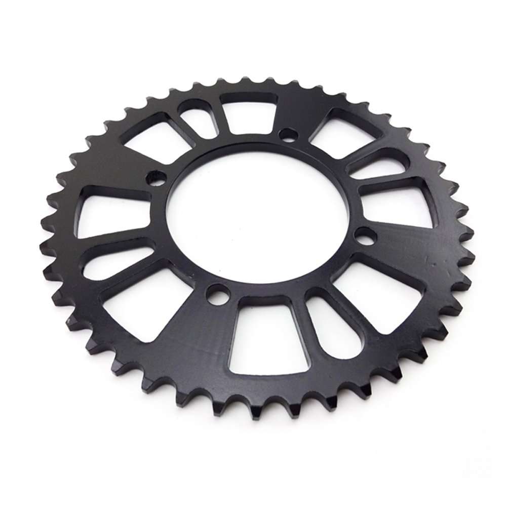 Race-Guy 420 76mm 43 Tooth 43T Rear Chain Sprocket For 50cc 70cc 90cc 110cc 125cc 140cc 150cc 160cc Chinese Motorcycle Dirt Trail Bike