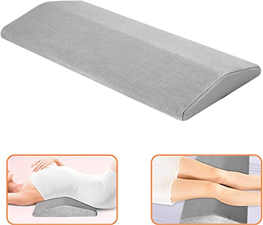 Comfort Massage Back Lumbar Memory Foam Wedge Support Pillow Sleeping Support US