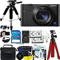 Sony Cyber-shot DSC-RX100 V Digital Camera - Deal-Expo Premium Accessories Bundle