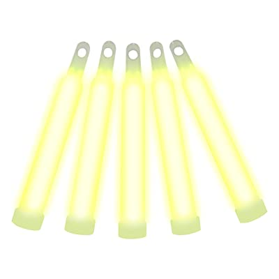 "Northern Lights 4"" Premium Glowstick Yellow (100 Pieces): Toys & Games"