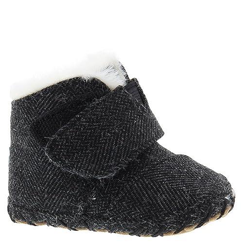 3e46604fe81 TOMS Kids Unisex Cuna (Infant Toddler) Black Herringbone 1 M US Infant   Amazon.co.uk  Shoes   Bags