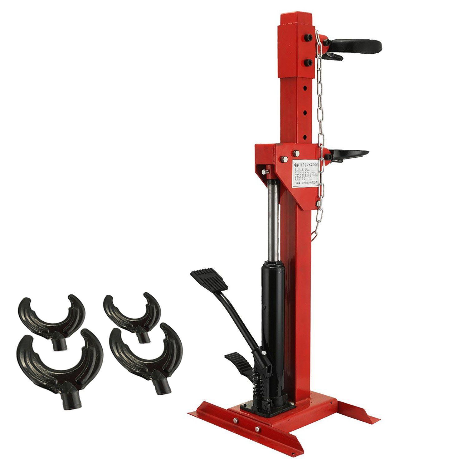 BestEquip 3 Ton Capacity Auto Strut Coil Spring Compressor 6600LB Strut Compressor with 4 Snap Joints Air Hydraulic Tool for Car Repairing and Strut Spring Removing (3 Ton Capacity) by BestEquip (Image #1)