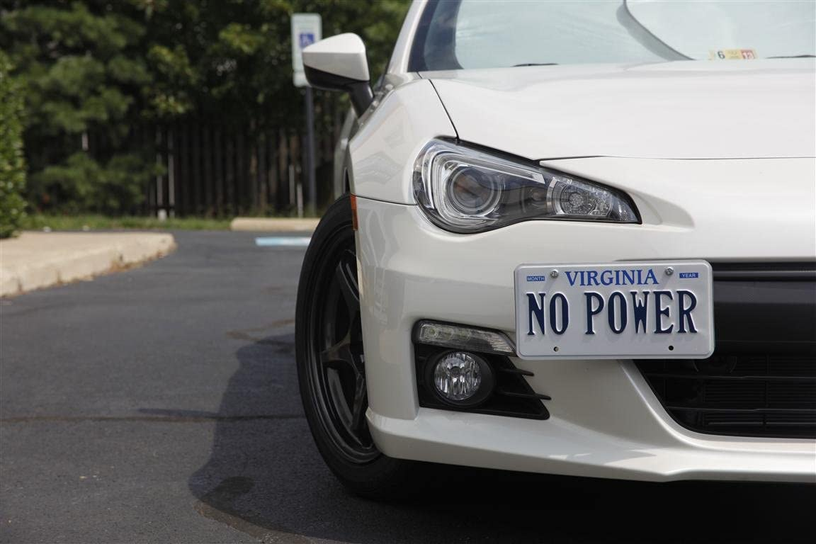 No Drilling CravenSpeed Platypus License Plate Mount for Subaru BRZ and Scion FR-S Made of Stainless Steel /& Aluminum Installs in Seconds 2012-2019 Made in USA