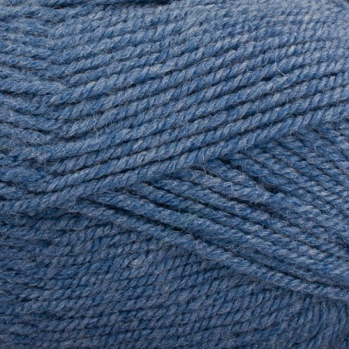 Worsted Heathers Plymouth Encore (Plymouth (1-Pack) Encore Worsted Yarn Denim Heather 0685-1P)