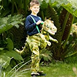 Childs Ride On Dinosaur Fancy Dress Boys Girls Animal Step In Party Costume