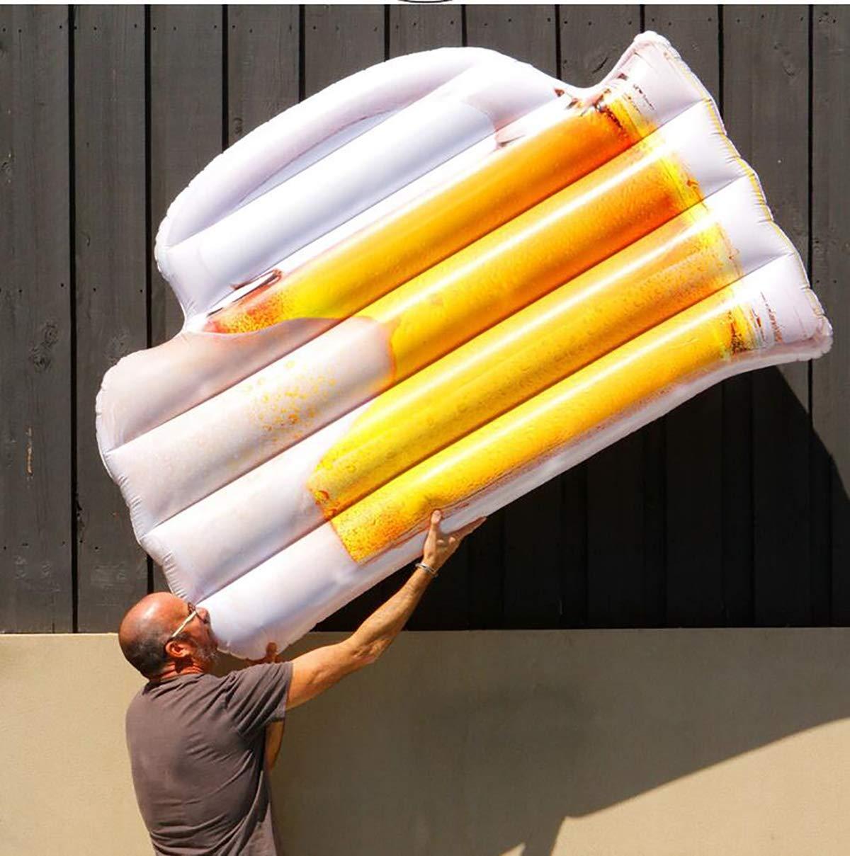 SUMME 180 cm Taza de Cerveza Inflable Gigante Botella de ...
