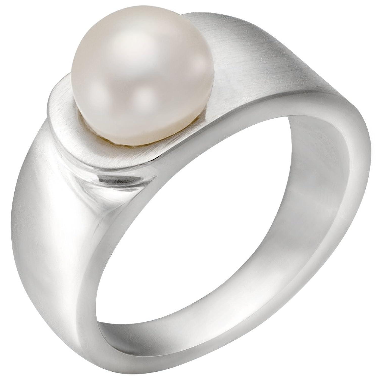Vinani 3er Ring mattiert drei Ringe beweglich Sterling Silber 925
