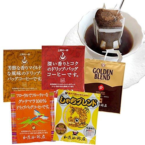 加藤珈琲店 珈琲専門店の ドリップバッグ コーヒー アソート セット 80P
