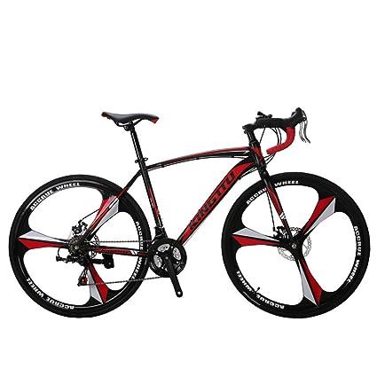 Amazon.com : Extrbici XC550 Road Bike Racing Bike Bicycle for Mens ...